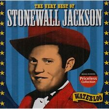 The Very Best of Stonewall Jackson: Waterloo Audio CD