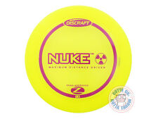 NEW Discraft Elite Z Nuke 164-166g Yellow Purple Stamp Distance Driver Golf Disc