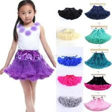 Baby Girl Tutu Fluffy Party Skirt Soft Princess Ballet Pettiskirt Kids Dance