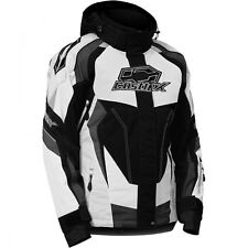 Castle X Womens Charge G3 Snowmobile Jacket White sizes Small-2XL