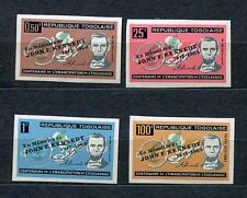 Togo 1964 Kennedy Oveprint Imperf 1963 Lincoln aet MNH Sku 709