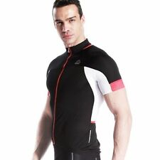 SOBIKE Cycling Short Jersey Short Sleeves-Feather T-Shorts Black White
