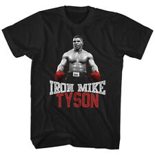 T-Shirts Sizes S-3XL New Mike Tyson Iron Mike Red Gloves Mens T-Shirt