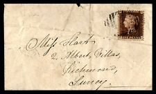 GB 1873 Penny Red Cover to Surrey Richmond