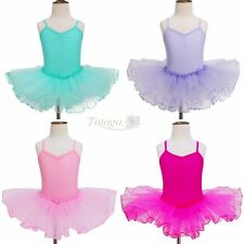 Girls Gymnastic Ballet Dance Dress Leotard Unitard Toddler Kid Dancewear Clothes
