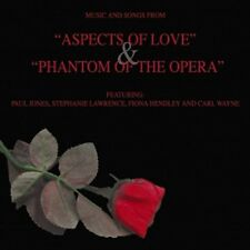 Music And Songs From Aspects of Love/Phantom of the Opera Show Compilation Audio