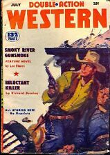 Pulp Magazine. Double-Action Western: July 1953. Brister, Deming, Floren 231953