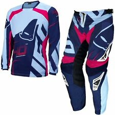 NEW 2017 UFO 40TH ANNIVERSARY MOTOCROSS KIT COMBO JERSEY & PANTS SKY BLUE