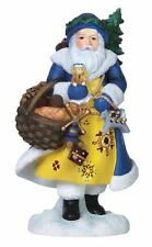 Pipka Limited Edition Santa Carrying Bread and Toys Christmas Figurine