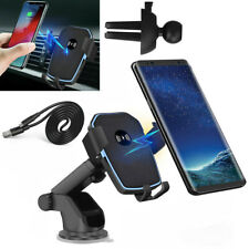 Qi Wireless Charger Charging Dock Car Holder Mount Samsung Galaxy S7 Edge Note 5