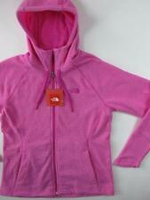 The North Face NEW Pink Fleece Womens November TUNDRA Full Zip Hoodie Jacket
