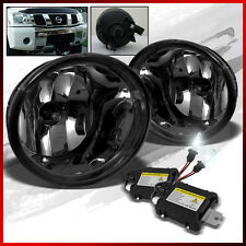 Fits 05-07 Armada, 04-13 Titan Smoke Fog Lights + 4300K Xenon HID Conversion