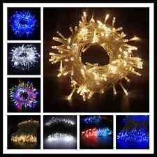 LED String Fairy Lights Indoor/Outdoor Xmas Christmas Garden Party elec Battery