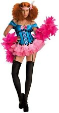 Burlesque Doll Moulin Rouge Showgirl Women Costume L
