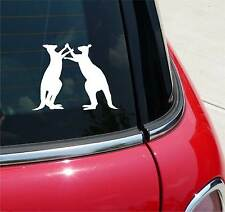 KANGAROOS BOXING FIGHTING GRAPHIC DECAL STICKER ART CAR WALL DECOR