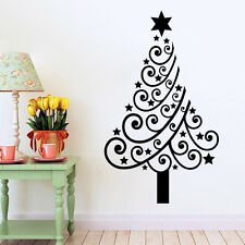 Removable Christmas Tree Wall Stickers Wall Decals DIY Sticker Mural Home Decor
