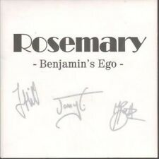 "ROSEMARY Benjamin's Ego 7"" Limited Numbered Signed Pic Sleeve B/w Turning Blue ("