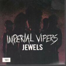 """IMPERIAL VIPERS Jewels 7"""" Red Vinyl In Numbered Pic Sleeve B/w Scars Alone (emin"""