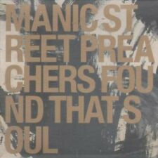 MANIC STREET PREACHERS Found That Soul CD 1 Track Promo With Info Stickered Card