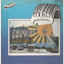 AKRON STIFF COMPILATION Various LP 13 Track With Inner Featuring Bizarros,chi Pi