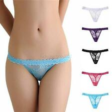 New Sexy Womens Lace Briefs Lingerie Knickers G-string Thongs Panties Underwear