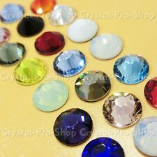 16ss Genuine Swarovski Hotfix Iron On Rhinestone nail Crystal 4mm ss16 setHG