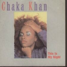 "CHAKA KHAN This Is My Night 7"" Edit B/w Caught In The Act (w9097) Pic Sleeve UK"