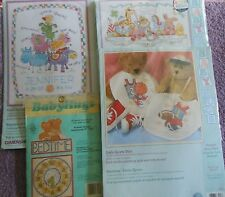YOUR CHOICE: DIMENSIONS BABY HUGS Cross Stitch/Embroidery Kits BIRTH RECORD/BIBS