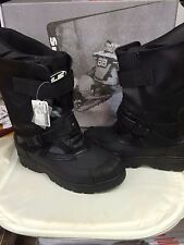 HJC STANDARD WINTER SNOW BOOTS SNOWMOBILE SNOWCROSS MENS SIZE 13 REAL PICS