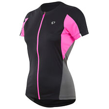 Pearl Izumi Select SS Womens Bike Jersey Black/Screaming Pink 2017