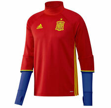 *ADIDAS - SPAIN TRAINING TOP RED / BLUE = SIZE ADULTS