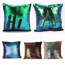NEW Cushion Pillow Cover Multicolor Glitter Sequins Throw Pillow Cafe Home Decor