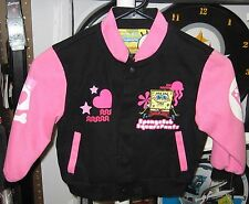 Spongebob Square Pants Cotton Twill Jacket - Free Shipping - New