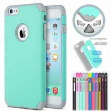 Thin Rubber Silicone Back Hard PC Case Cover Skin for Apple iPhone6 6s 4.7/Plus