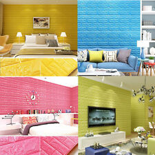 Living Room Wall Background Modern 3D Brick Pattern Wallpaper Bedroom Decor New