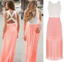 Dress Sexy Cocktail Long Boho Women Sundress Beach Maxi Evening Party Summer