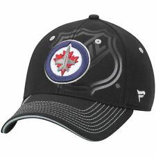 Winnipeg Jets Shield Flex Hat - Black - NHL