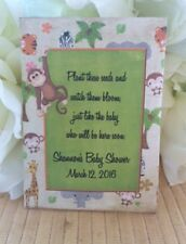 Jungle Baby Shower Seed Packets