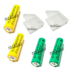 2 Case Box + 8 AA 900mAh Ni-CD Rechargeable Battery YG