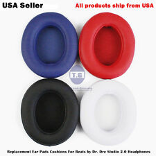 Replacement Ear Pads For Beats by Dr. Dre Studio 2.0 & Studio Wireless Headphone