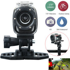 Full HD Waterproof Mini Helmet Cam Sport DV Action Camera BIKE Recorder + MIC
