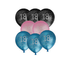 """10"""" Balloon 18th Happy Birthday Party Balloons Decorations - Pack of 20"""