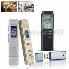 New Rechargeable 8G Digital LCD Audio/Sound/Voice Recorder Dictaphone MP3 Player