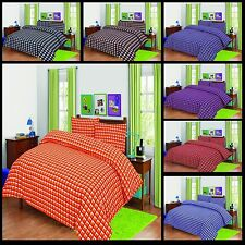 Thermal Duvet Cover Bed Set Brushed Poly-Cotton Flannelette Quilt Cover All Size