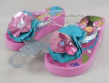 Disney Store Frozen Elsa & Anna Platform Flip Flops Beach Shoes Sandals 7/8-13/1