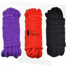 Sexy GORGEOUS SOFT Japanese Silk ROPE 10 METRES LONG accessories 3 Colors ILOE