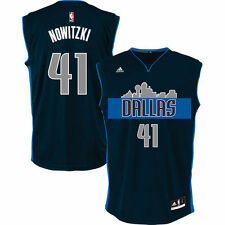 Dirk Nowitzki Dallas Mavericks adidas Alternate Replica Jersey - Navy - NBA