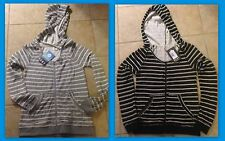 Roxy Womens First Breathe Zip Hoodie - Pick Black or Grey Stripe XS New Tags