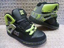 "DC Youth's Shoes ""Rebound"" -- Black/Lime(BKI) , Size 12"