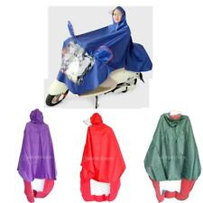 Universal Motorcycle Scooter Raincoat Rain Proof Cape Poncho Coat Waterproof